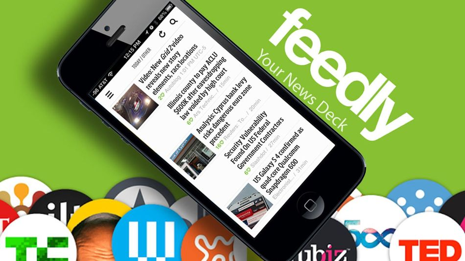 Feedly (source Mashable)