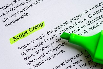 Scope Creep highlighted