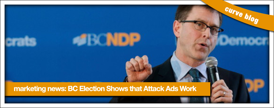 BC Election Proves Efficacy of Attack Ads