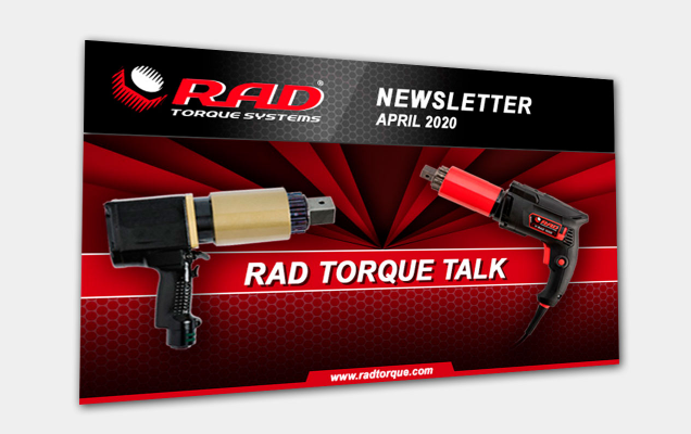 RAD Torque Newsletter